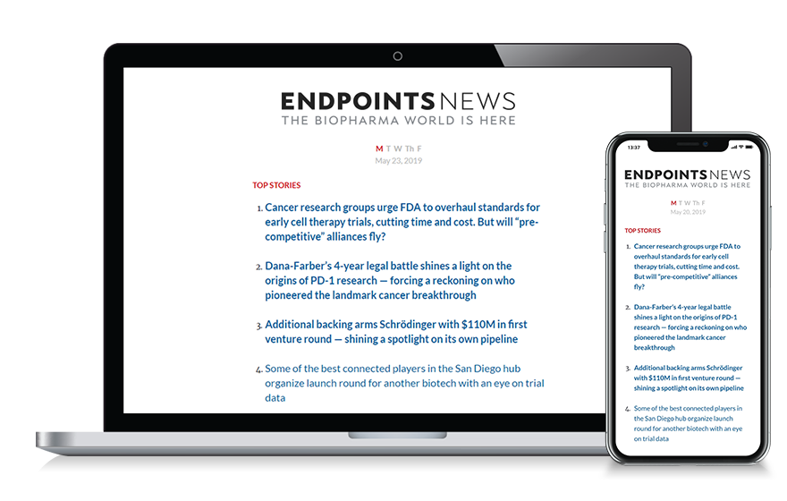 Subscribe to Endpoints News
