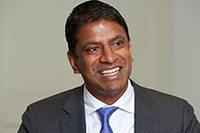 Vasant Narasimhan, Global Head Drug Development and Chief Medical Officer for Novartis