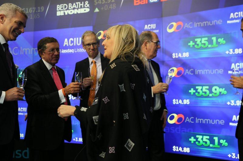 AC Immune CEO Andrea Pfeifer