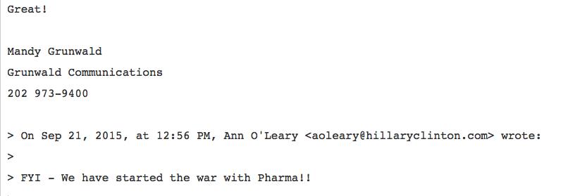 Tweet started a war with pharma