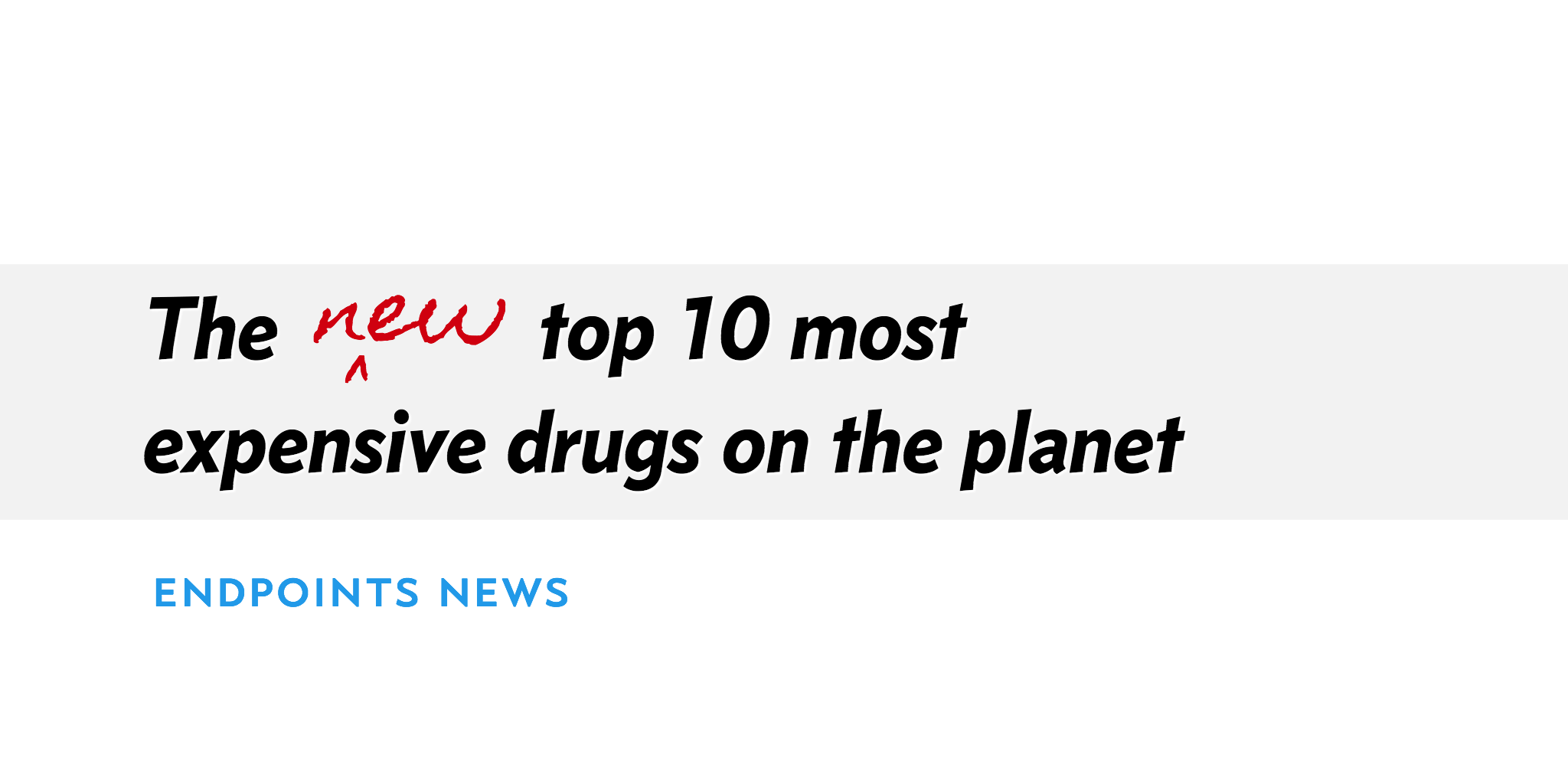 The most expensive drugs 77