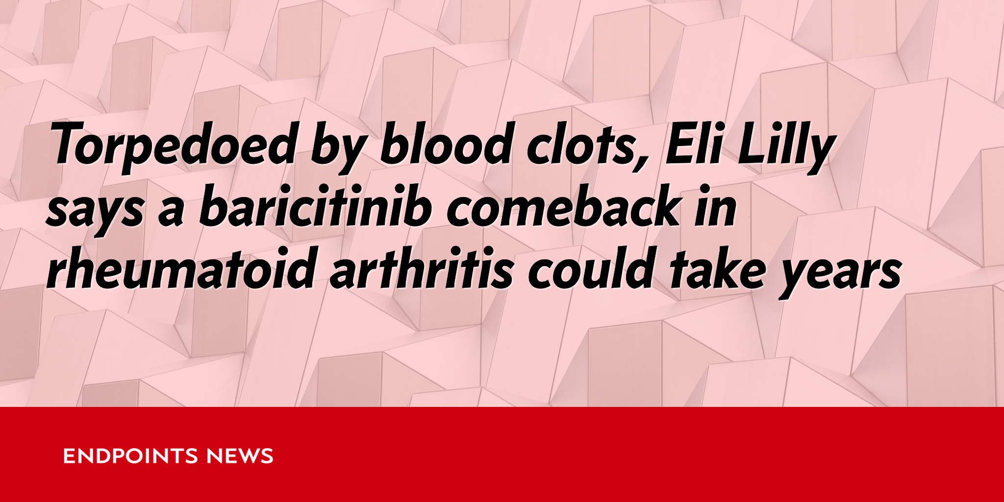 baricitinib rheumatoid arthritis forecast and market In january 2017, eli lilly submitted new drug application with the us fda for rheumatoid-arthritis treatment to commercialize baricitinib in the us market patent expiration of few antirheumatic biologicals will boost the development of biosimilars.