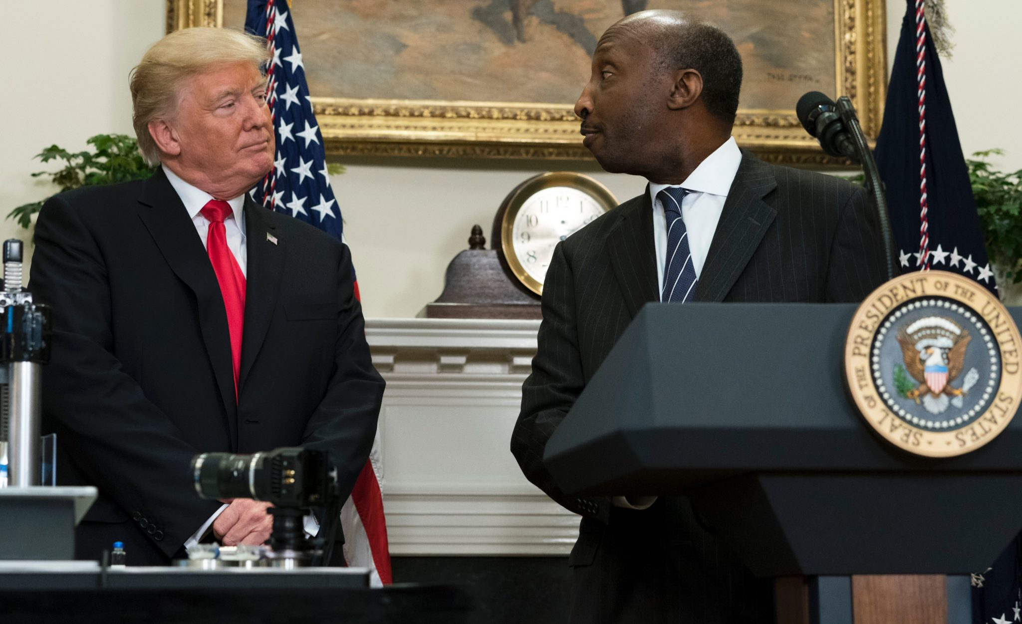 Merck CEO quits President Trump's council over Charlottesville