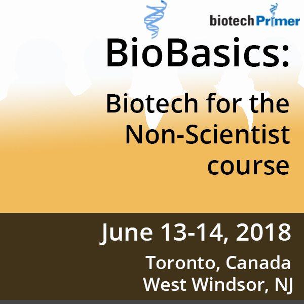 Biotech Primer Toronto 2018