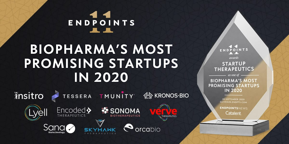 endpts.com - John Carroll - The Endpoints 11: Here are some of the most promising startups in biotech. And Covid-19 isn't going to stop them